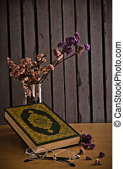 The Koran - holy book of Muslims