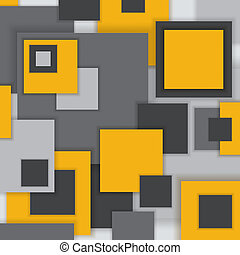 Background Unusual modern material square design. Abstract...