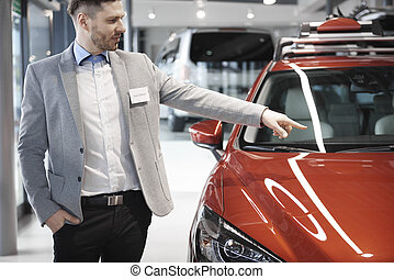 Car dealer doing great job
