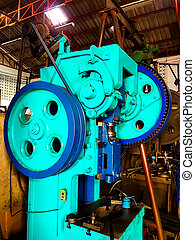 Metal stamping metal machine with Belt Gear