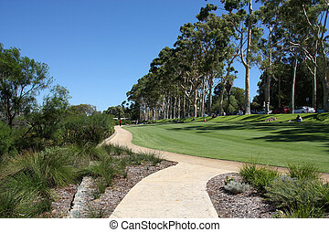 Perth - King's Park in Perth, Western Australia. Green...
