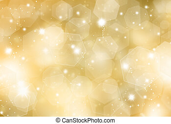 Glittery gold background - Glittery gold Christmas...