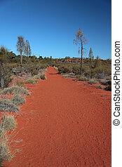 Desert - Die W?ste in Zentral Australien mit der typisch...