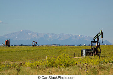 Oilfield Pumpjacks - oilfild pumpjacks in eastern colorado...