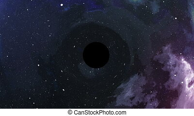 """The black hole sucks light and blows up"" - ""The black hole..."