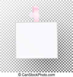 Plastic Advertising Wobbler Vector. Papper Price Tag Template