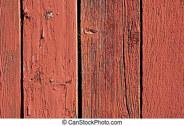 vendimia, rojo, granero, tabla, Plano de fondo