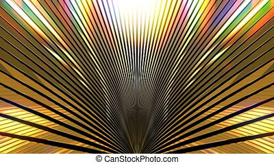 Golden Shine VJ Stage Background - Golden shine abstract...
