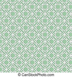a pattern of white geometric shapes