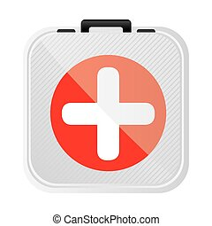 symbol first aid kit icon