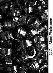 group of spare parts - made group of spare parts from...