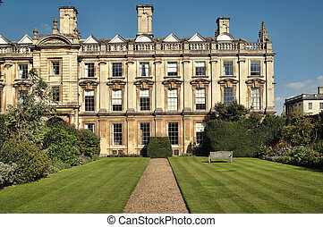 Clare College at summer time