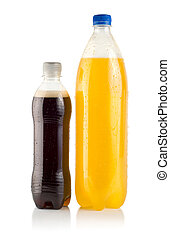 Two bottles of soda
