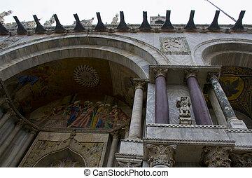 Venezia - Italia - Splendida Piazza San Marco di Venezia -...
