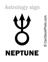 planeta,  astrology:, Netuno