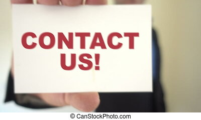 contact us call to action - Shot of contact us call to...