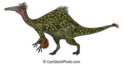 Deinocheirus dinosaur - 3D render - Deinocheirus dinosaur...