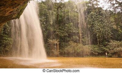 Prenn Waterfall. Da lat. Prenn is one of the waterfalls...