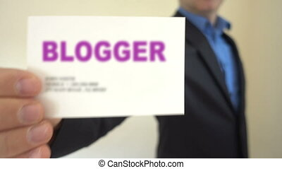 Blogger for hire - Shot of Blogger for hire