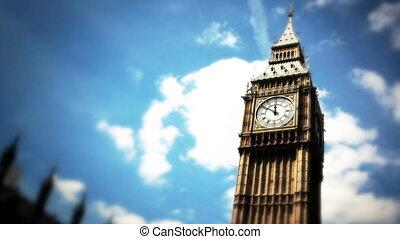 Big Ben timelapse - Shot of Big Ben timelapse