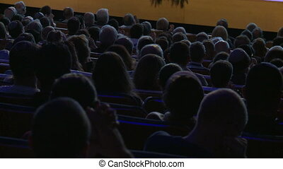 Audience seating in an auditorium - Shot of Audience seating...