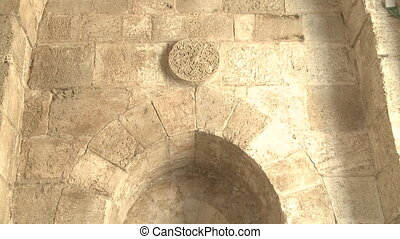 Ancient walls of Jerusalem - Shot of Ancient walls of...