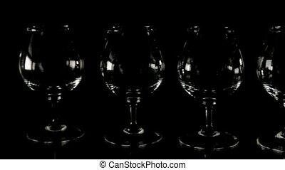 Fill wineglass. Slider shoot - Fill wineglass - slider...