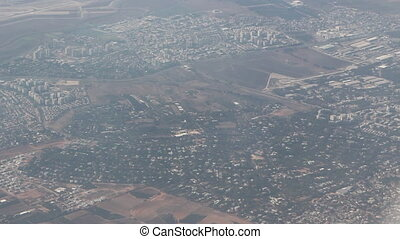 flight over israel - Shot of flight over israel