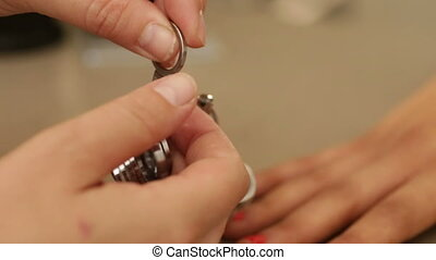 Fitting rings for size of ring - Shot of Fitting rings for...