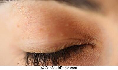 Eye open wide - Shot of Eye open wide