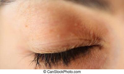 Eye extreme close-up - Shot of Eye extreme close-up