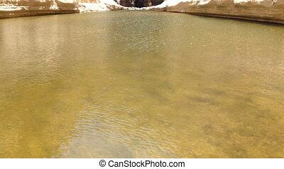 Ein Uvdat spring - Shot of Ein Uvdat spring