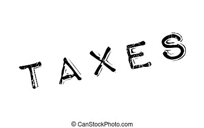Taxes rubber stamp