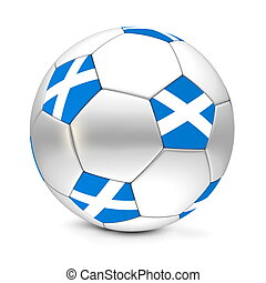 Soccer Ball/Football Scotland - shiny football/soccer ball...