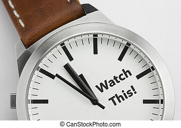 Watch with text Watch This