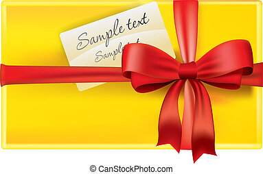 Gift with card