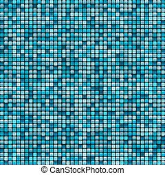 mosaic tile background aqua colours