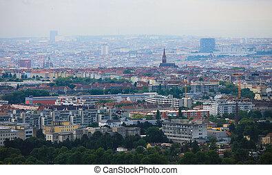 Panorama on Vienna