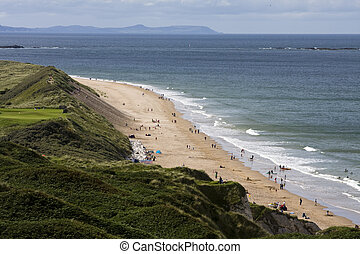 Whiterocks Beach - Whiterocks beach on the North Antrim...