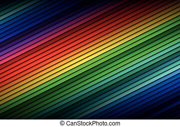 Abstract color palette background, color thin diagonal lines, vector illustration