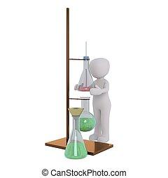 3D, 化学者, 人