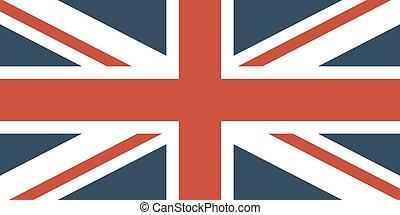 Flag Of The Great Britain Official symbol of the state...