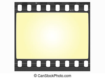 film frame - vector
