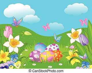 Easter Meadow