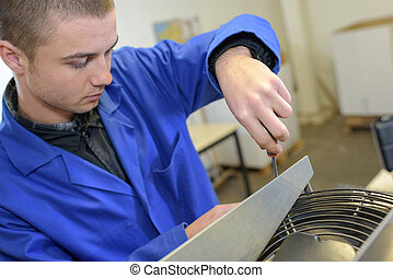 disassembling an appliance