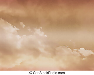Cloudy sky - background