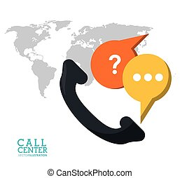 call center phone support world