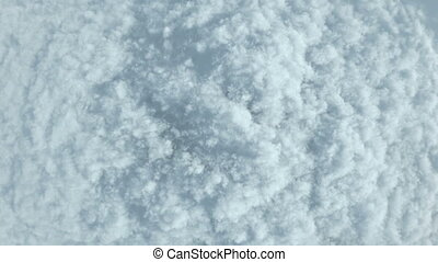 The sea of cloouds - Sea of clouds 3D CG rendering.