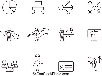 Outline Icons - Business