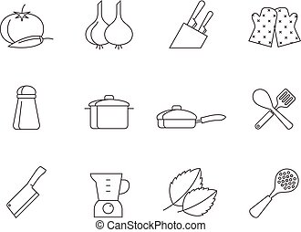 Outline Icons - Cooking
